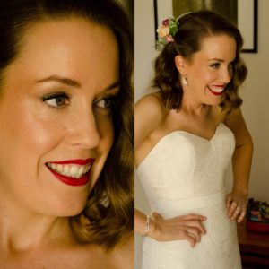 Melbourne wedding makeup