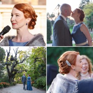 Rippon Lea Estate wedding hair &makeup