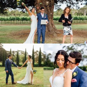 Wedding hair and makeup Mornington