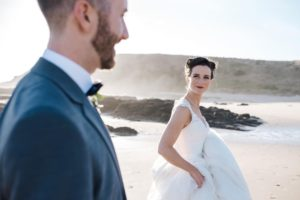Philip Island wedding hair and makeup