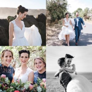 Phillip Island wedding hair and makeup