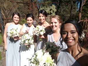 Yarra Valley bridal hair and makeup