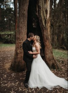 Sky High Mt Dandenong bridal hair and makeup