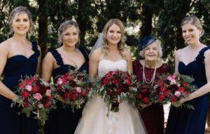 Yarra Valley bridal hair and makeup
