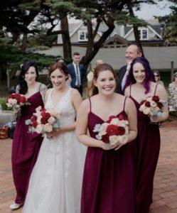 Phillip Island bridal hair and makeup