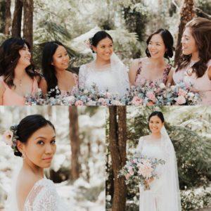 Mount Dandenong wedding hair and makeup